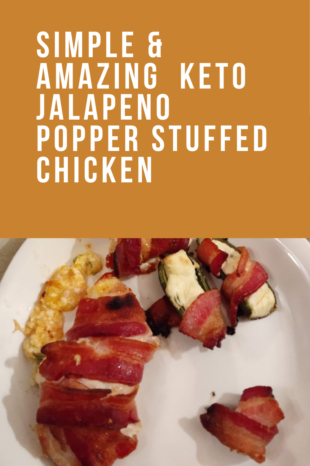 Poppin' Keto Stuffed Jalapeno Chicken