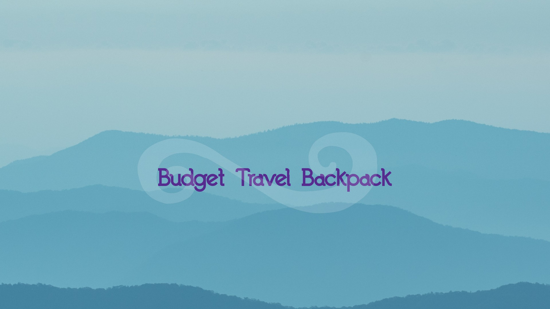 Budget Friendly Travel Back Pack
