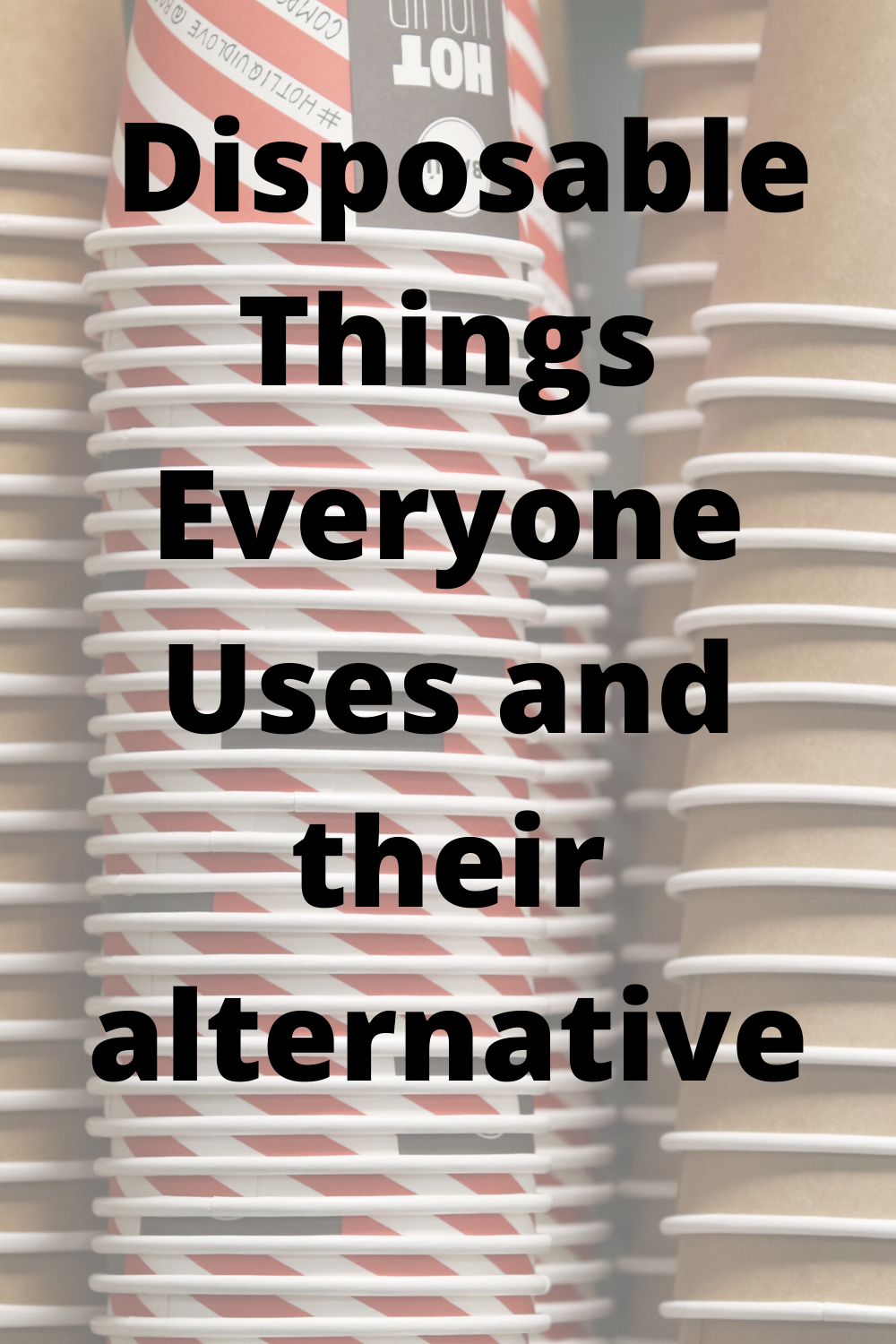 9 Loved Disposable Items to Replace Today